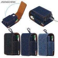 JINXINGCHENG Bolsa de cuero para GLO, funda para Glo, accesorios para bolso, estilo abatible, 8 colores