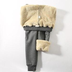 Image 2 - Jvzkass 2020 zimowe spodnie bawełniane lambskin spodnie wełniane spodnie na co dzień plus aksamitne pogrubienie spodnie spodnie w dużym rozmiarze kobiety Z211
