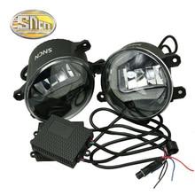 цены на 2Pcs Led Fog Lamp for Lexus CT IS ES GS GX LS With Daytime Running Lights DRL 12V PI67 Waterproof  в интернет-магазинах