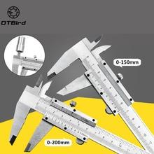 """Sürmeli kumpas 6 """"0 150mm 0.02mm Metal kaliperler göstergesi mikrometre ölçme araçları"""