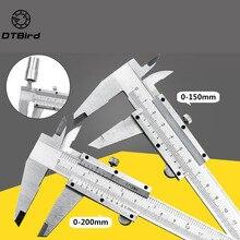 """Vernier Caliper 6"""" 0 150mm 0.02mm Metal Calipers Gauge Micrometer Measuring Tools"""