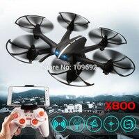 무료 배송 MJX X800 2.4 그램 4CH 축 UAV 쿼드 콥터 RTF 드론 RC 헬기 추가 C4005