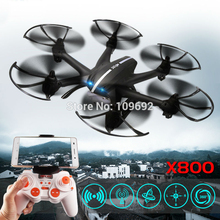 Free Shipping MJX X800 2 4G 4CH 6 Axis UAV Quadcopter RTF Drone RC Helicopter Can