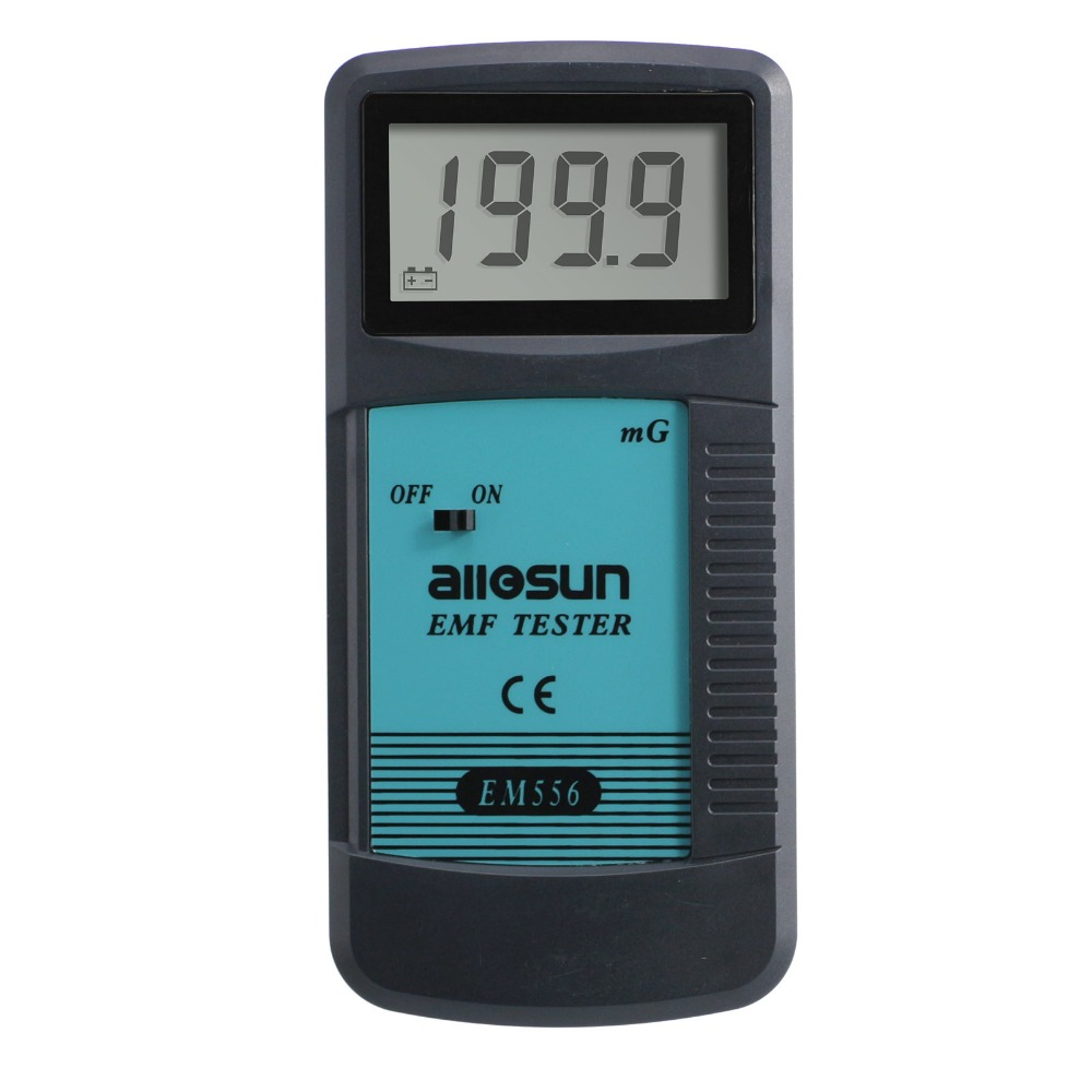 Electromagnetic Radiation Detector EMF Meter Dosimeter Tester Equipment Digital LCD EM556 all-sun