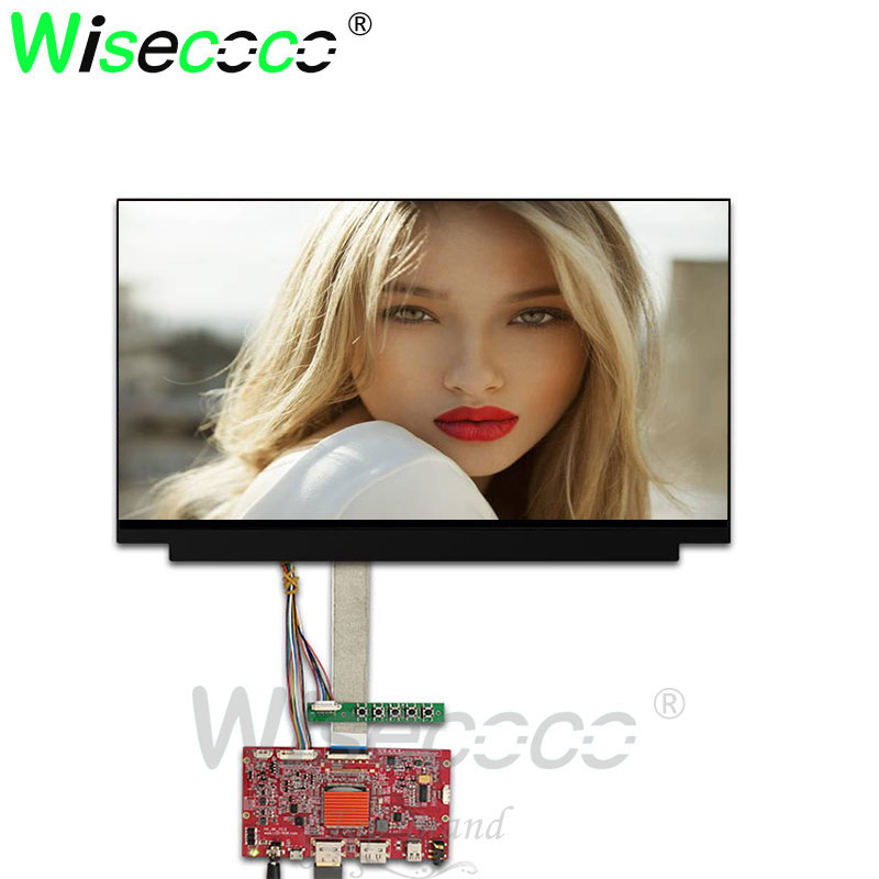 15 6 inch 4K IPS LCD Screen 3840X2160 NV156QUM N32 2HDMI DP LCD Contoller Board for