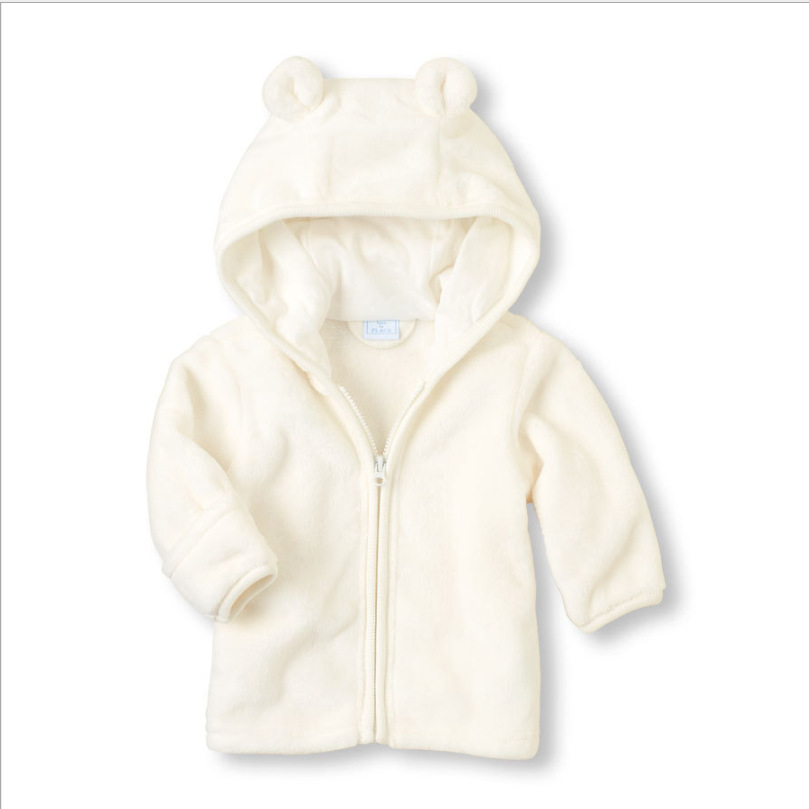 MESOLO Baby Super of Coral Fleece Infant Hoodie Hooded Coat Three Color  Optional Support A Undertakes C1-in Jackets   Coats from Mother   Kids on  ... 854fcd8e2104
