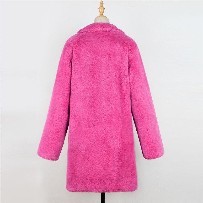 Manteaux Fuchsia Style Qualité Fabrication Court Chaud 2018 De Vestes Nouveau Bureau Fourrure Femmes Parka Rose Chinois Haute Pour Lanshifei D'impression Dames 4WxSTnEFRE