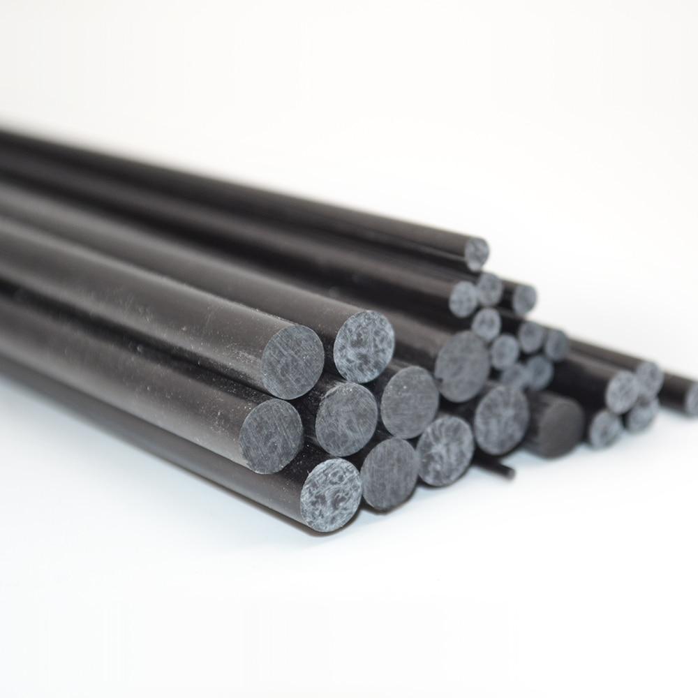 RC Airplane Carbon Fiber Rods 5 Pieces/bag Length 500mm diam