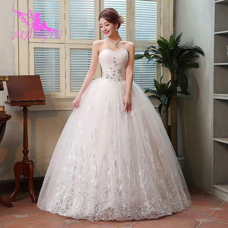 AIJINGYU dress wedding dresses ball gown sweet WK418