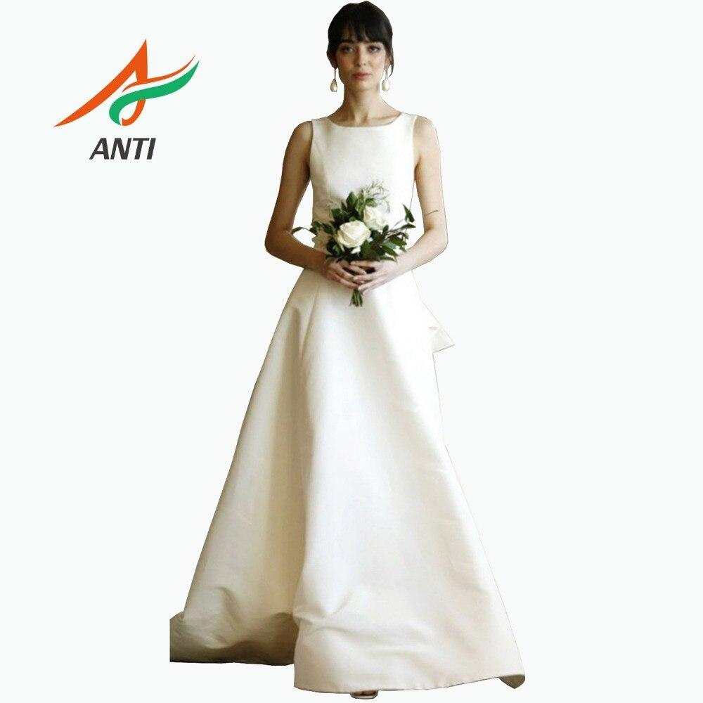 Backless Wedding Dress Boho