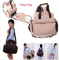 2016 Mummy nappy bag maternidade diaper backpack changing bags maternity handbag travel women messenger bag with big capacity
