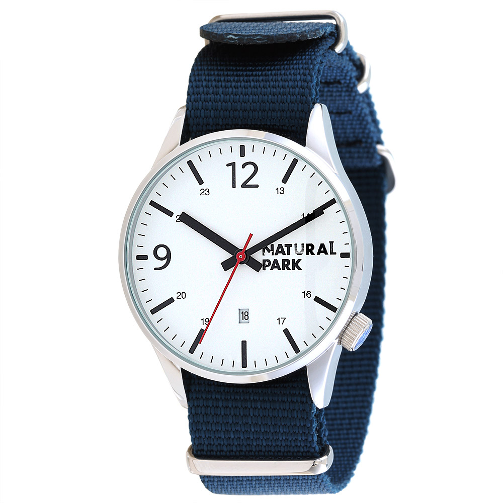 NATURAL PARK Simple student Watches Men Top Brand Luxury Clock relogio masculino Quartz Wristwatch Nylon Strap