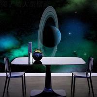 Free Shipping Pluto Solar System Wallpaper Cosmic Wallpaper 3D Living Room Bedroom Large Wall Painting Wallpaper