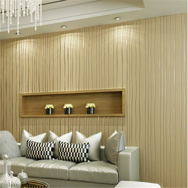 beibehang wallpaper 3D pure plain vertical stripes bedroom living room background wall paper floating non - woven wall paper beibehang shop for living room bedroom mediterranean wallpaper stripes wallpaper minimalist vertical stripes flocked wallpaper