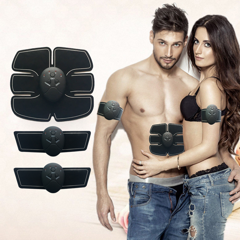 2018 Wireless Muscle Stimulator EMS Stimulation Body Slimming Beauty Machine Abdominal Muscle Exerciser Body Massager new rechargeable electric muscle stimulator ems body slimming abdominal muscles training machine body toning arm waist massager