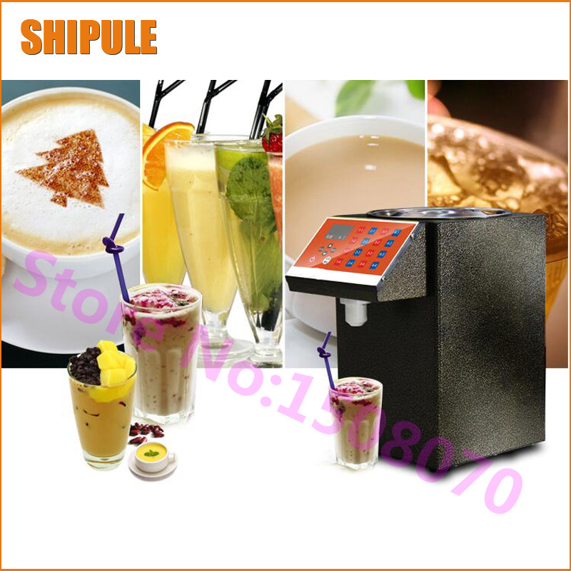 gold supplier 2018 full stainless steel syrup dispenser, bubble tea automatic fructose quantitative machine for sale