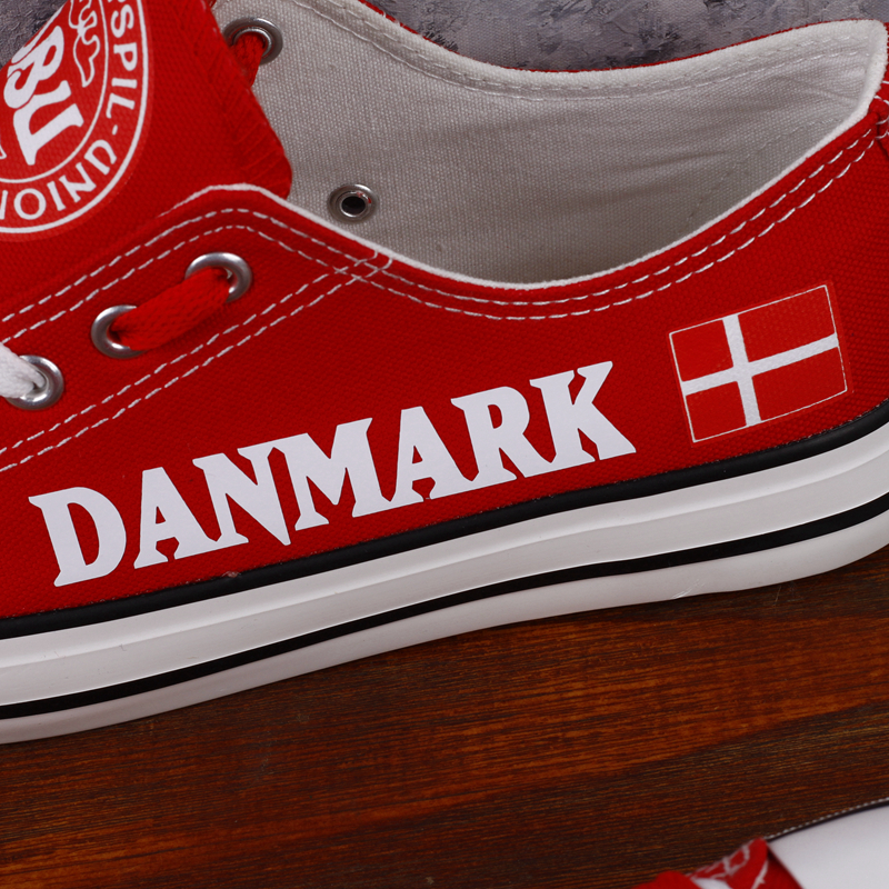 Hommes Casual Chaussures Danois forme Rouge Appartements E Drapeau Marche Espadrilles Personnalisée lov Nouveau Plate T diu17r Low Chaussure 00000 Danemark Design Imprimer Top wqxnwp7Fa