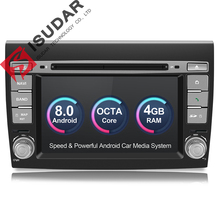 Isudar Car Multimedia Player Android 8 0 GPS 2 Din Stereo System For Fiat Bravo 2007