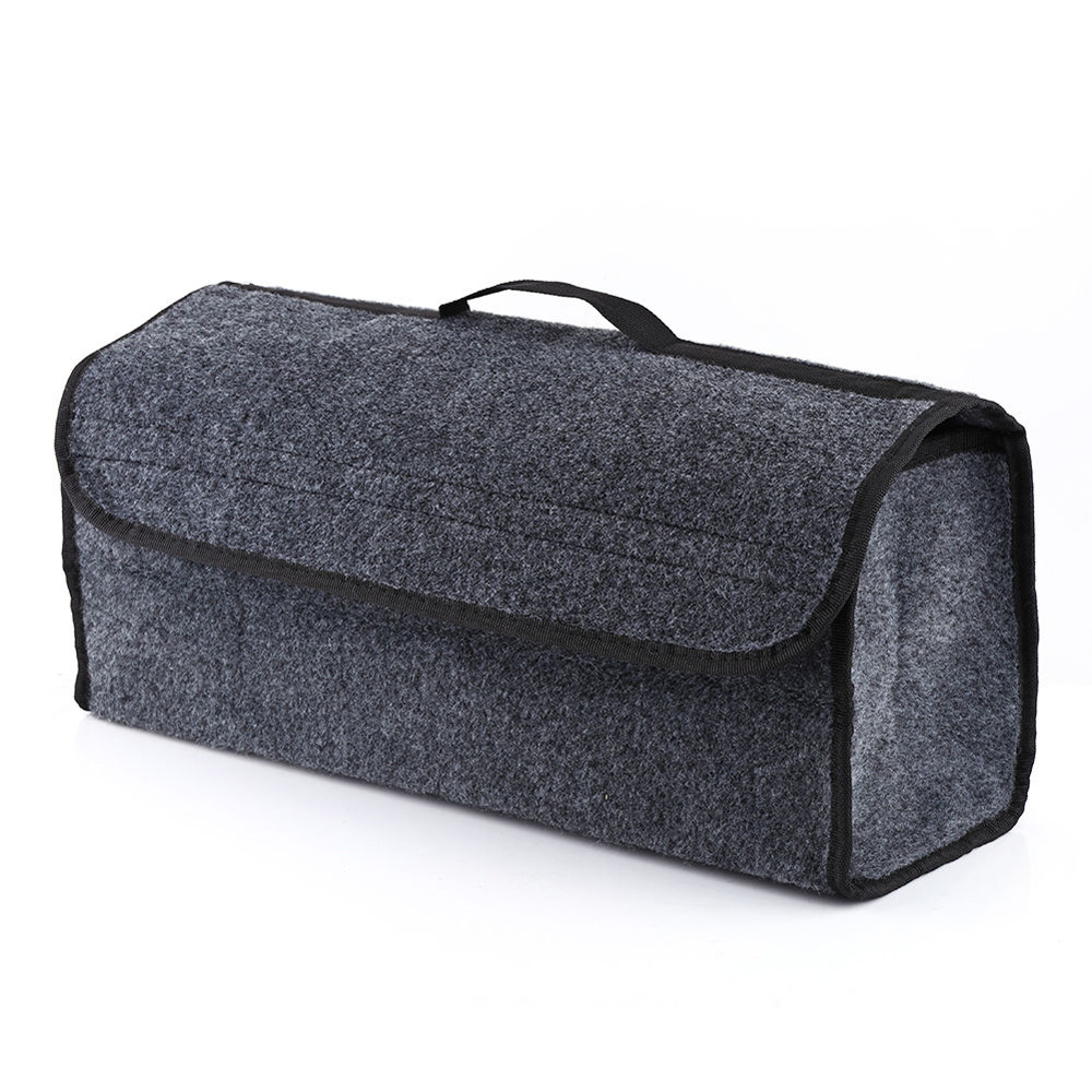 Car Trunk Organizer Dirt-resistant Practical Car Storage Box Bag Stowing Tidying Package Blanket tool car trunk storage bag oxford cloth folding truck storage box car trunk tidy bag organizer storage box with cooler bag