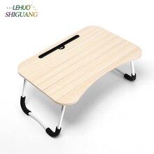 Eenvoudige Computer Bureau student slaapzaal Bed bureau klaptafel Multifunctionele laptop tafel Mode slaapkamer meubels