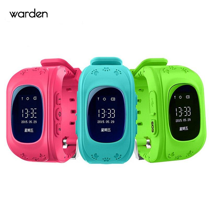 8170fb7aa58b Q50 inteligente GPS Kid Safe Reloj Inteligente Llamada SOS Localizador  Localizador Del Perseguidor Niños Warch Anti-perdida de Monitor de Bebé  hijo de ...