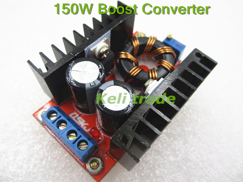 1pcs 150W Boost Converter DC-DC 10-32V to 12-35V Step Up Voltage Charger Module TK0446 dc dc automatic step up down boost buck converter module 5 32v to 1 25 20v 5a continuous adjustable output voltage