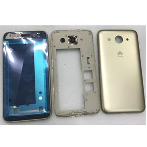 """Image 2 - front lcd screen middle bezel Battery Door Back Cover Housing Case for Huawei Y3 2017/Y3 2018/Y5 lite 2017  5.0"""""""