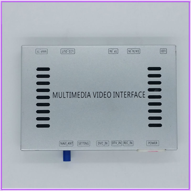 Voiture DVD caméra de recul multimédia Interface Audio vidéo Navigation GPS pour 2015 Volkswagen Golf 7