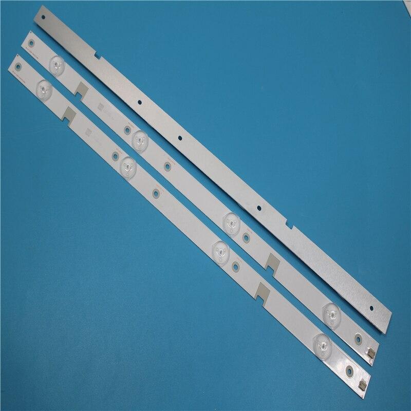 100%new 2set=20Pieces LED Backlight Strip 4 Lamp For 43N1 43U1 Light Bar CH43L43A-V01/V02/V04 DSBJ-WG