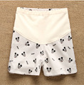2016 Maternity Shorts Summer Cotton 100%  Mickey Pattern  Prop Belly Shorts Pregnancy Character Casual Shorts