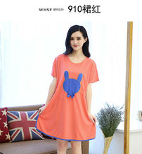 2018 Fashion NEW Women s Sleepwear nightgown Women s Home Clothes sleepshirt nightdress AW6620