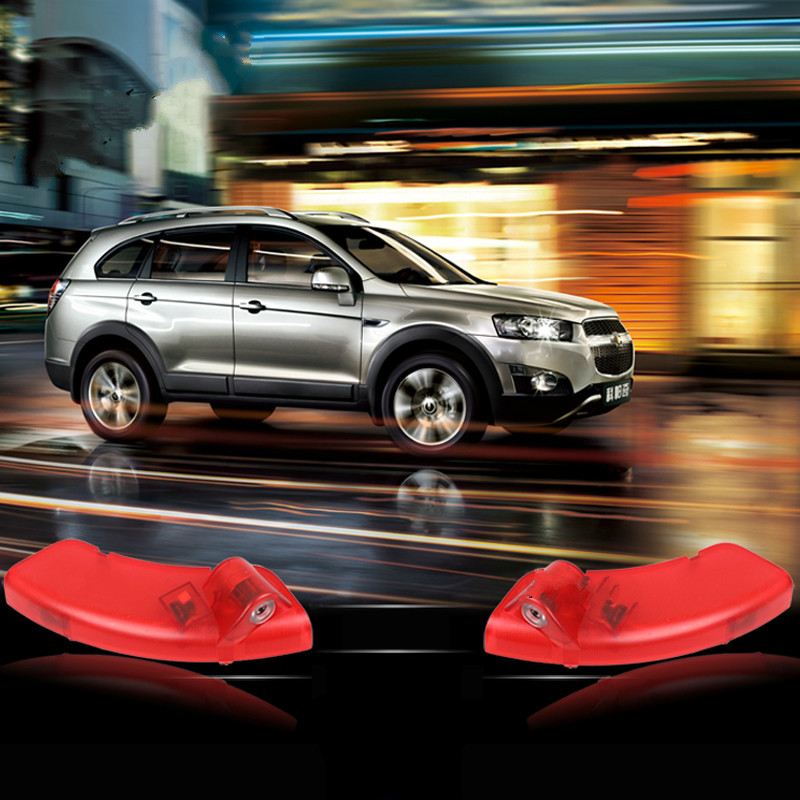 Pour Chevrolet Captiva Pour Opel Antara Voiture LED Avertissement Lumière bienvenue Logo Projecteur Auto D'ombre de Fantôme bienvenue laser lampe Lumières