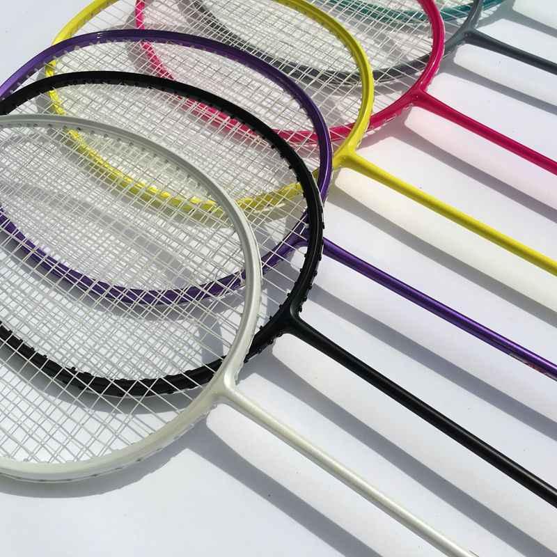 FREE Shipping 1 pc ZARSIA 100% carbon badminton rackets candy muti color badminton racquets 4U 83G