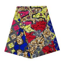 2019 New design veritable dutch Printed in fabric African wax block 100% cotton 6yards colorful design for african woman V-L 548 цена