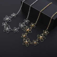 New Women Jewelry Set Necklace Earrings Accessories Korea Fashion Creative Anniversary Gift