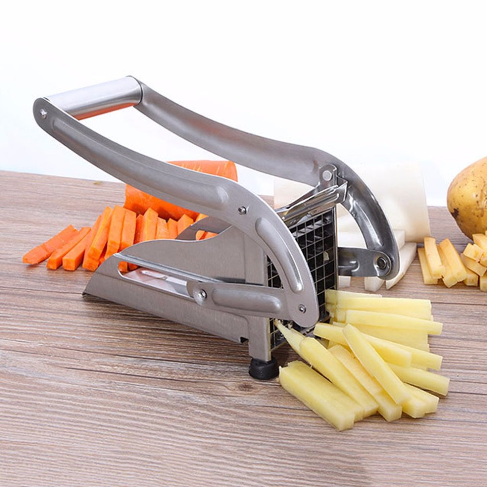 PREUP Stainless Steel Potato Chipper French Fries Slicer Chip Cutter Chopper Maker Cucumber Cutting Machine Drop Shipping