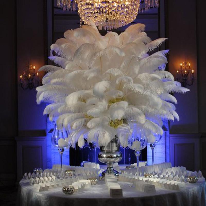 Wholesale pcs lot quot cm white ostrich plumes