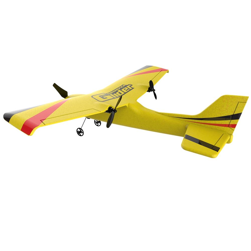 Z50 RC avion EPP mousse planeur avion gyroscope 2.4G 2CH télécommande envergure 25 minutes temps de vol RC avions jouet 4