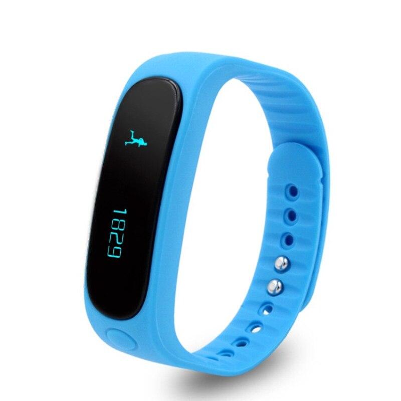 Fashional Wrieless Bluetooth 4 0 Smart Bracelet e02 Intelligent Mi Band smart band Fitness Tracker Smart