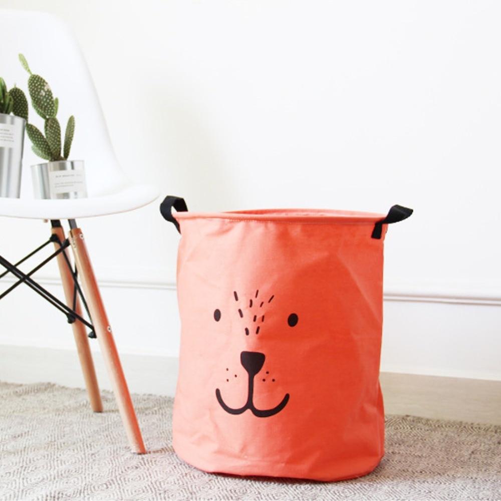 Creative Foldable Emoticon Storage Bag Batman Hanging Drawstring Bag Household Pouch Bag Home Storage Organization F