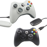 100% NEW Wireless Controller For XBOX 360 Games Joystick Gamepad Controle For Official Microsoft PC for Windows 7 / 8