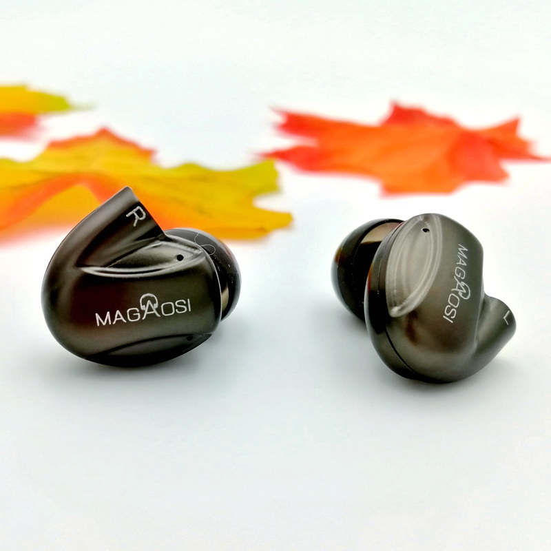 YMDX magaosi K3 Pro In Ear Earphone 2BA Hybrid with Dynamic 3 Units HIFI Earphone Earbud With MMCX Interface Headset  Bass super