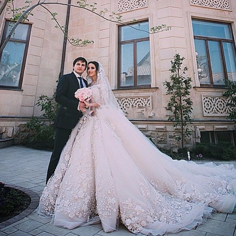 Romantic Ball Gown Most Elegant Wedding Dresses 2016 New Fashion ...