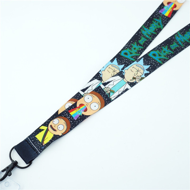 Rick and Morty Lanyard with ID Card Holder 2