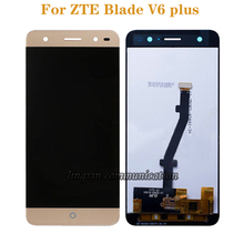 For ZTE Blade V6 plus LCD Display Digitizer Component Replacement for ZTE Blade BV0720 Mobile Phone Accessories Free Shipping все цены