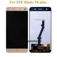 สำหรับ ZTE Blade V6 plus จอแสดงผล LCD Digitizer ส่วนประกอบสำหรับ ZTE ใบมีด BV0720 โทรศัพท์มือถืออุปกรณ์จัดส่งฟรี