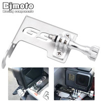 Bjmoto Motorcycle Left Front Stand Camera Bracket Go Pro Camera For BMW R1200GS LC ADV 2014