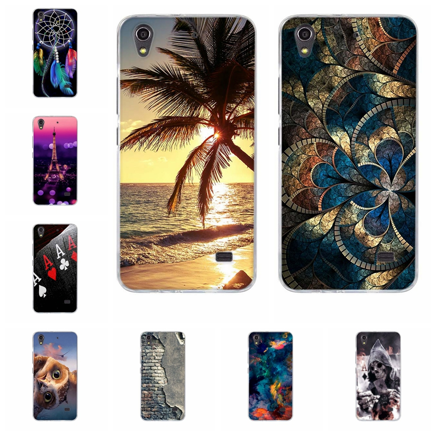 For Huawei Ascend G620s Case Soft Back Cover Cartoon Paiting Case for Huawei  Honor 4 Play C8817E