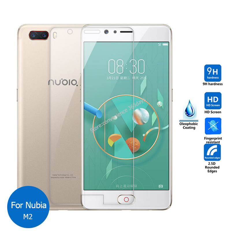 2PCS For ZTE Nubia M2 Lite N2 Tempered glass Screen Protector 9h Safety Protective Glass Film on M 2 NX551J NX 551J(China)