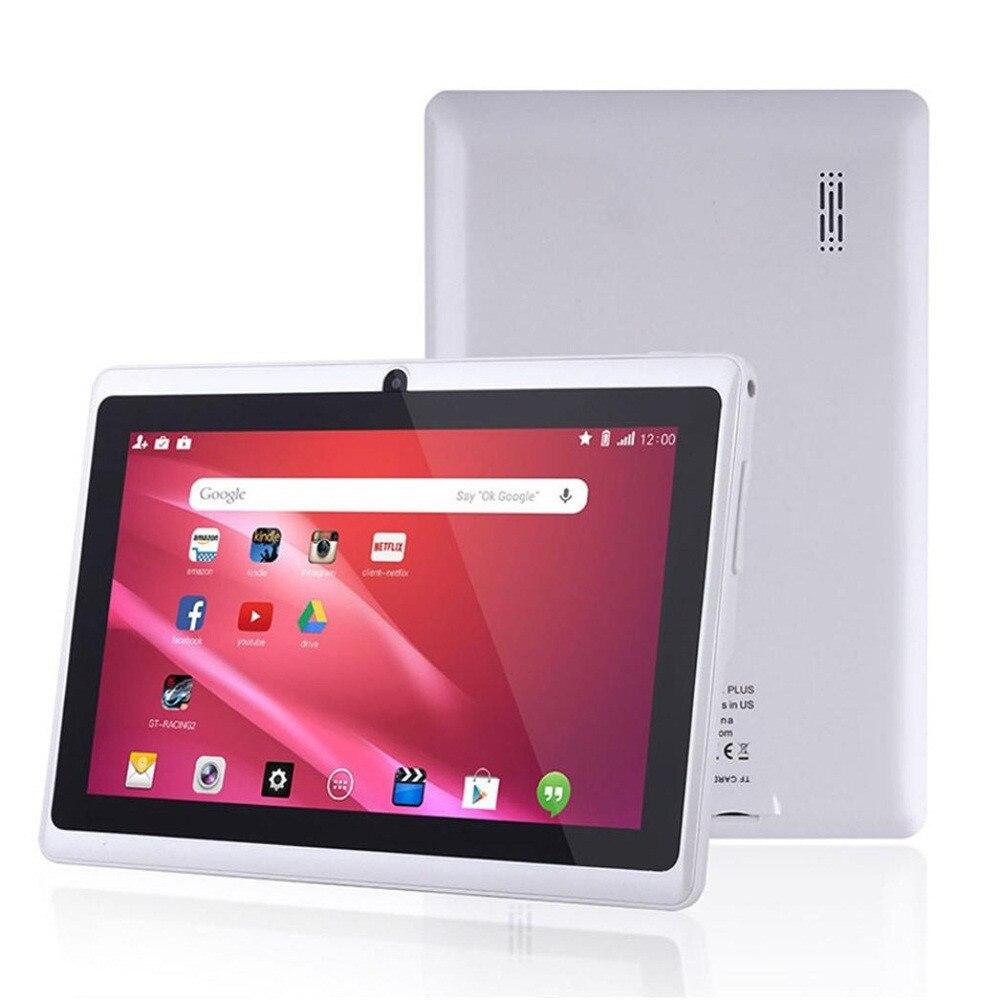 HIPERDEAL lecteur MP4 intelligent 7 pouces Google Android 4.4 enfants cadeau 1 GB + 8 GB double caméra Wifi Bluetooth cadeau intelligent